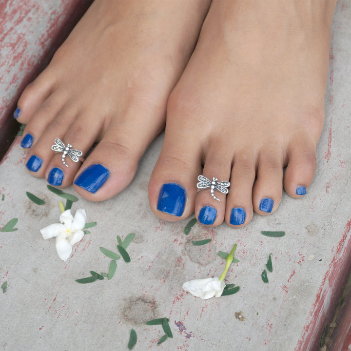 Angelic Tinkal Toe Rings