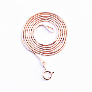 Thick Rose Gold Chain (20 Inches)