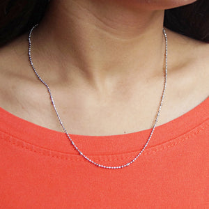 Bead Chain with 1.5cm Gap Big Beads (18 Inches)