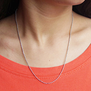 Oval Bead Chain (18 Inches)