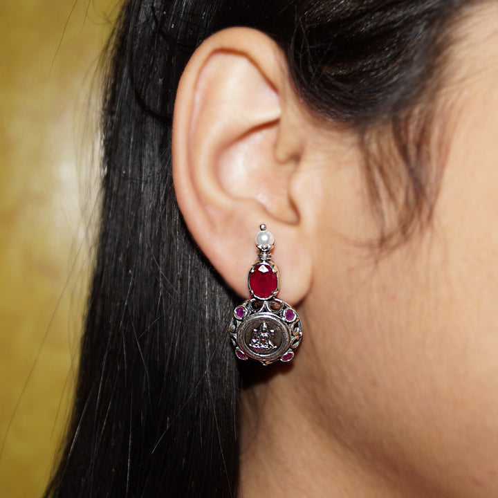 The Pure and Pious Lakshmi Earrings