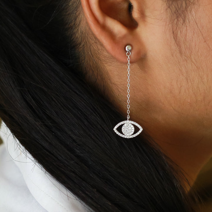 The Eye Catching Diamond Earrings