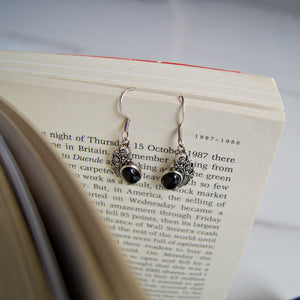 The Black Beauty Earrings