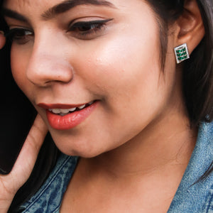 Glorious Rubik's Earrings