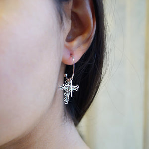 The Almighty Jesus Cross Earrings