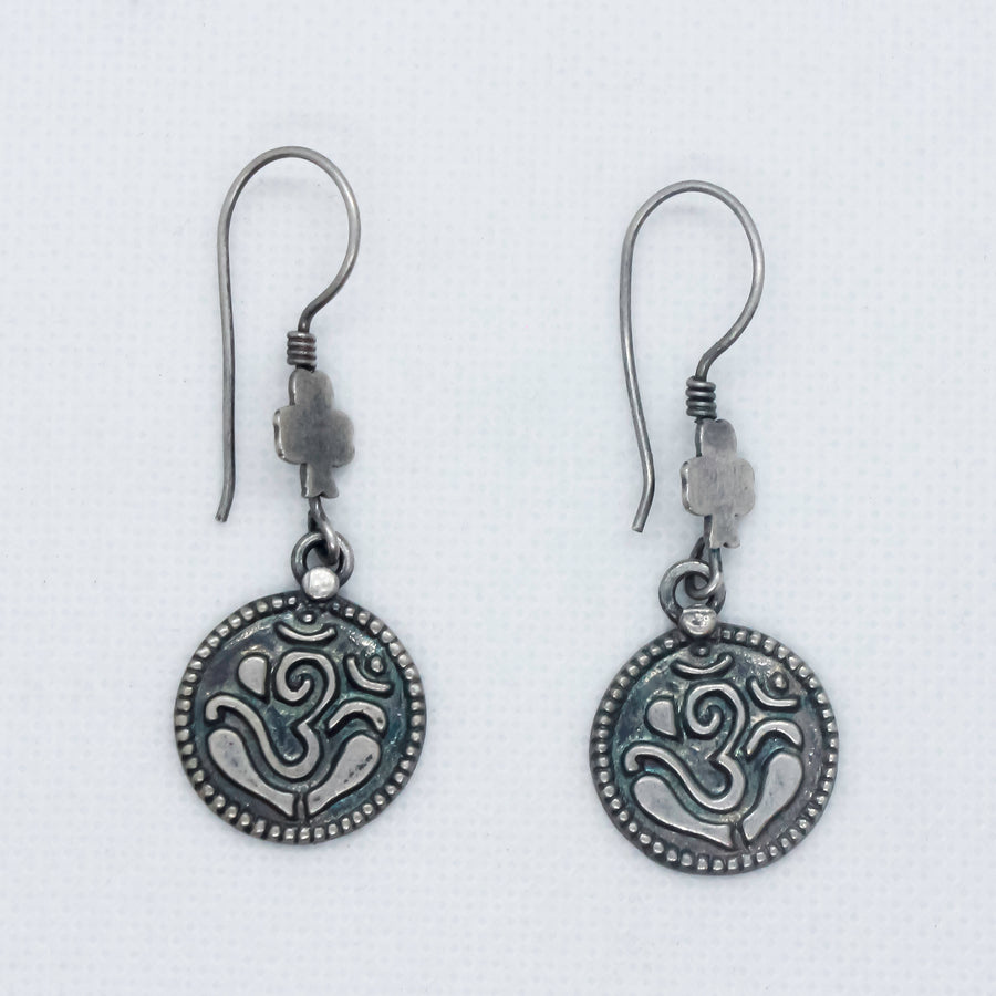 The Pious Om Earrings
