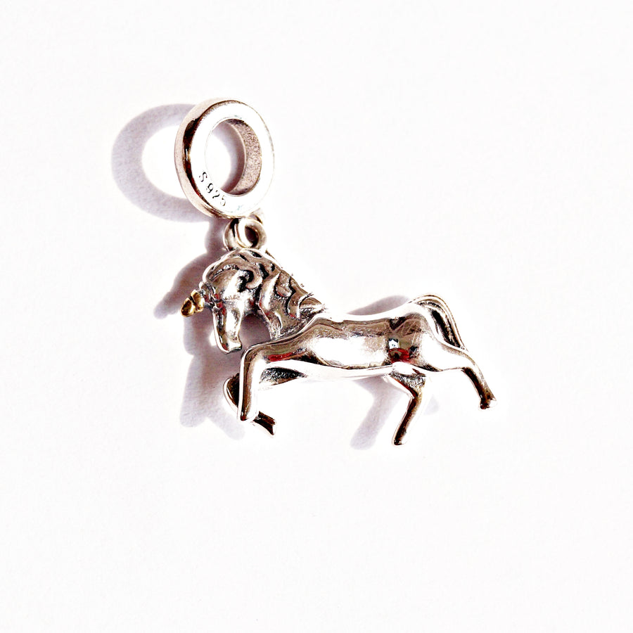 The Expeditiously Unicorn Charm