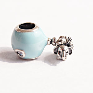 The Elephant and Bunny Love Charm