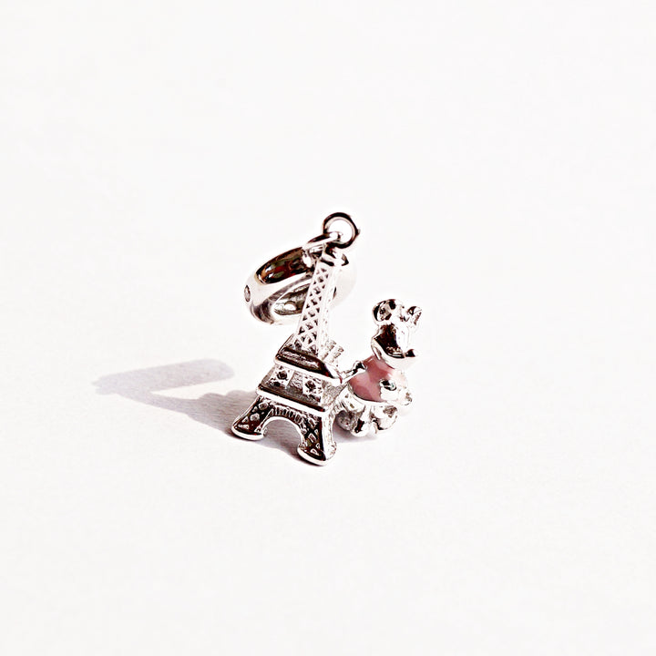 The Eiffel Tower Jaunt with Minnie Mouse Charm