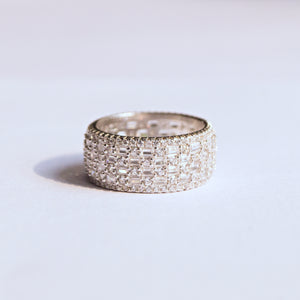 The CZ Silver Ring
