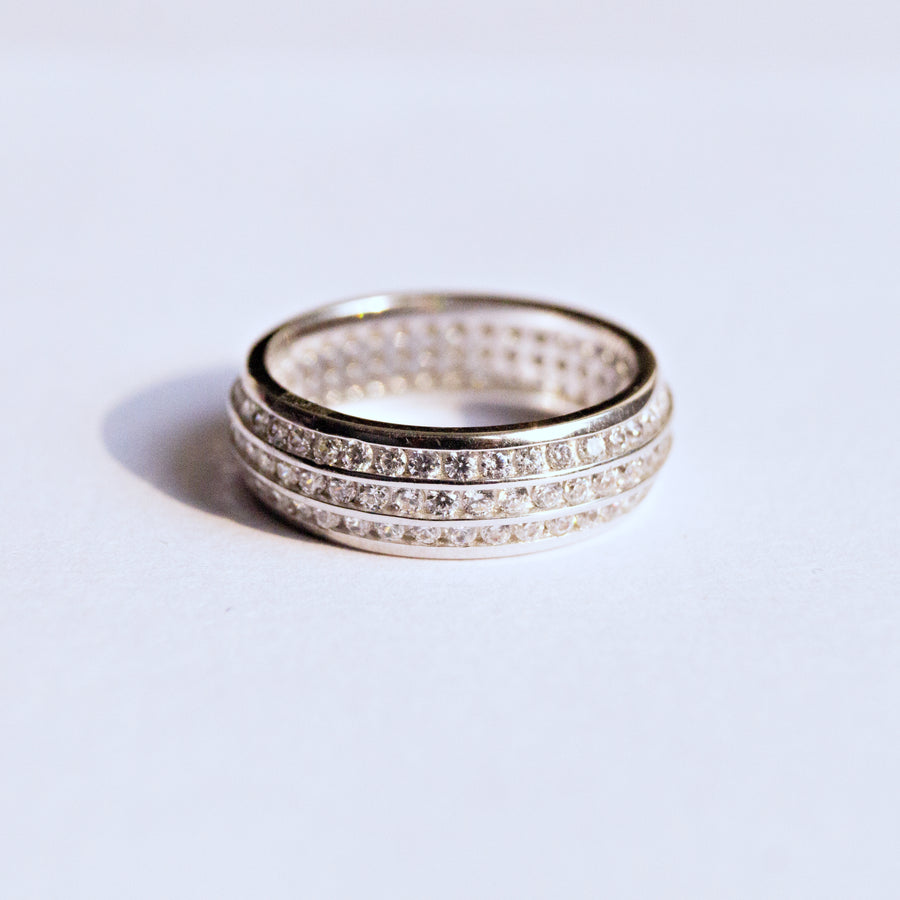 The Triple Layered Eternity Ring