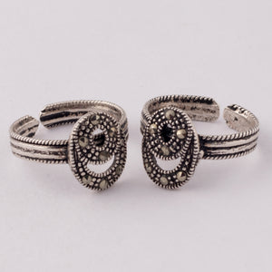 Marvellous Marcasite Toe Ring