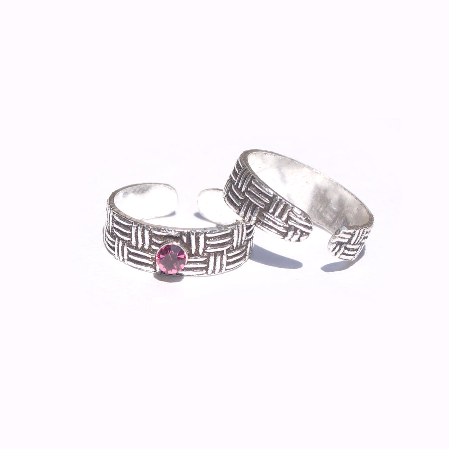 Wondrous Maze Toe Rings