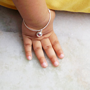The Ghungroo Baby Kaduli Bracelet (Single/Pair)