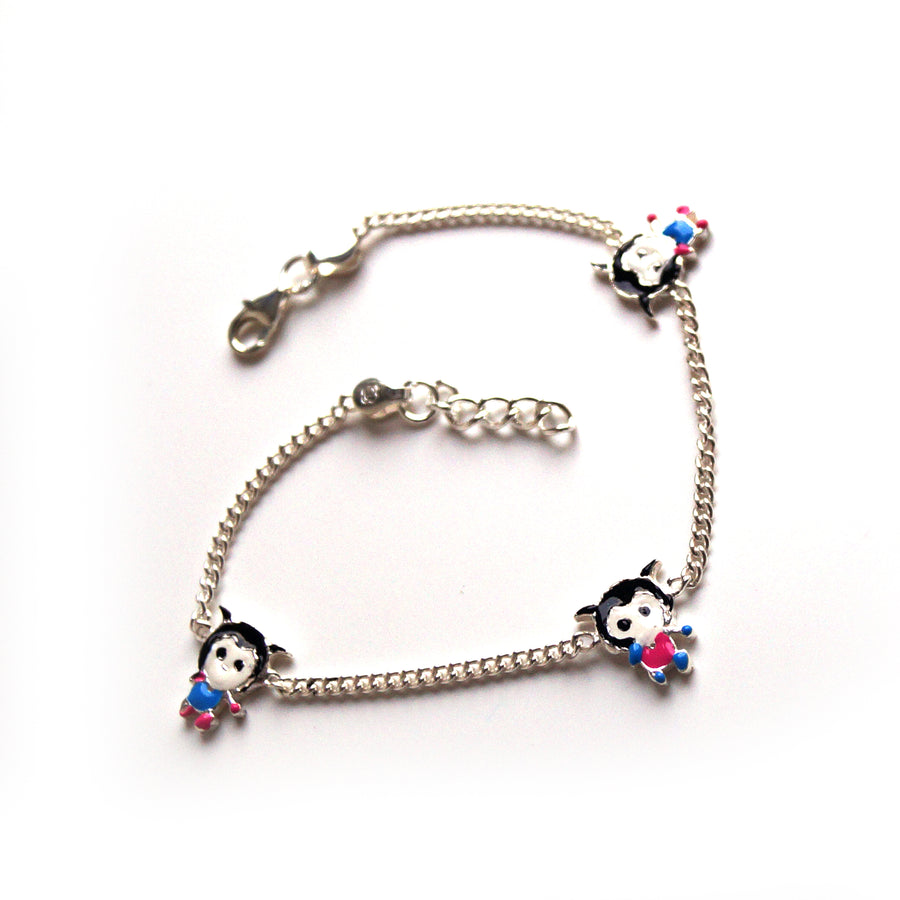 The Lass Kids Anklet (Pair)