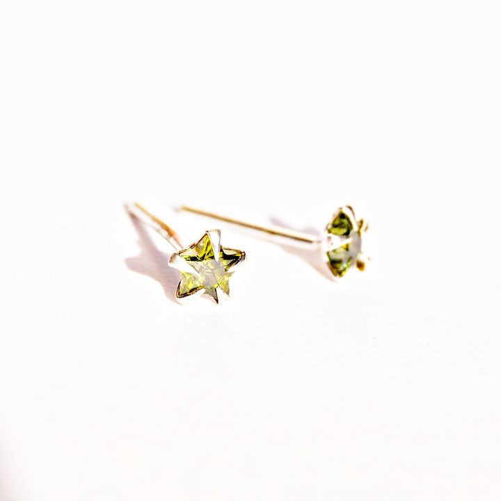 Versatile Multicolour Star Studs (4mm)