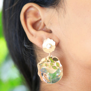 The Singing Bird and Tree Earrings