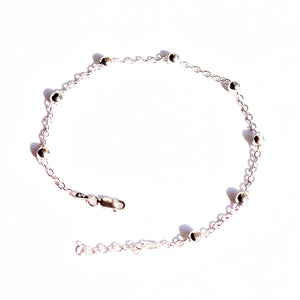 The Honeycomb Beaded Anklet (Single/Pair)