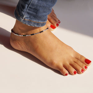 The Exclusive Shiny Beaded Anklet (Single/ Pair)
