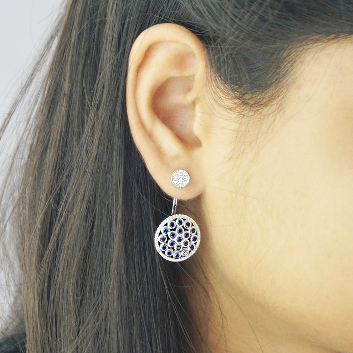 The Double Styled Vrit Stud Earrings