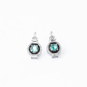 The Subtle Aquamarine Earrings