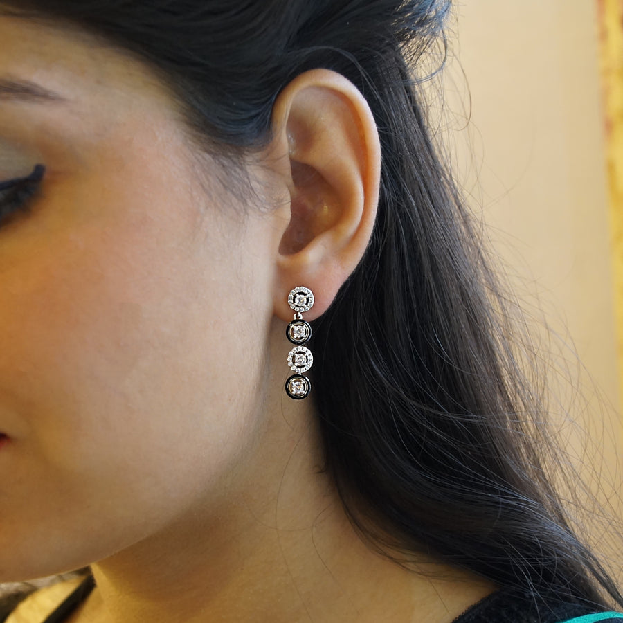 Amaira String Drop Earrings
