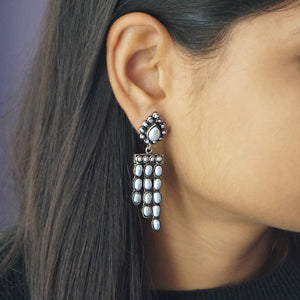 The Handicrafted Triple Layered Earrings