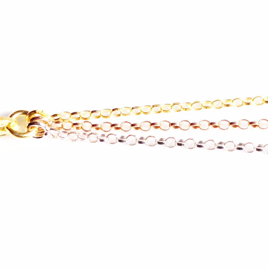 Tri-colour Triple Layered Belcher Chain