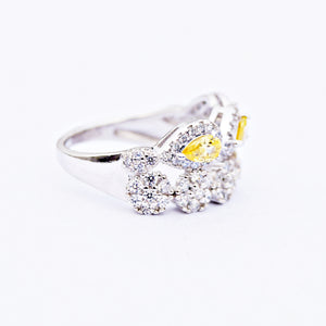 The Yellow Sapphire Crown Ring