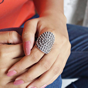 The Finger Wrap Beads Ring