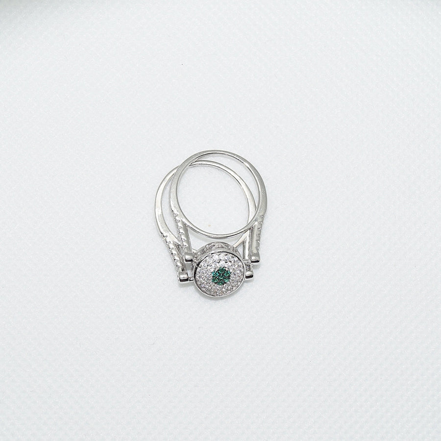 Emerald Reversable Ring