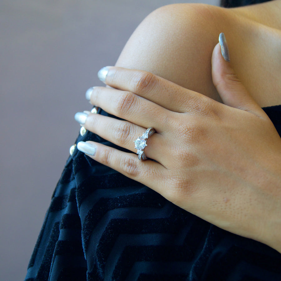 The Studded Princess Ring
