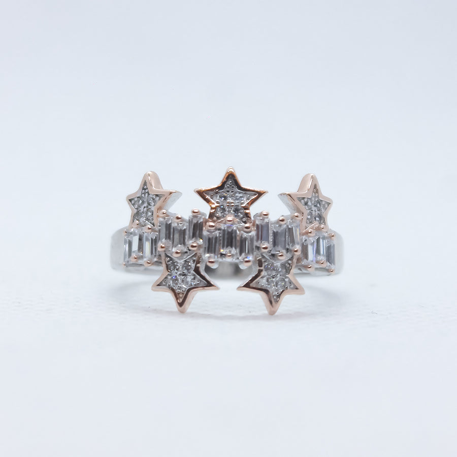 Illustrious Cluster Of Stars Ring