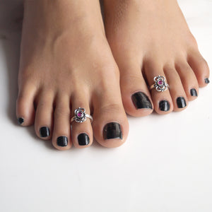 Infinity Gaze Toe Rings