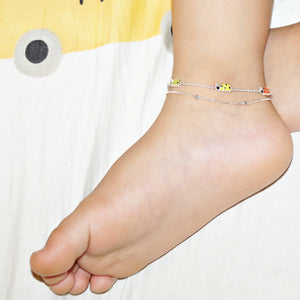 The Lady Bug Double Layer Kids Anklet (Single)