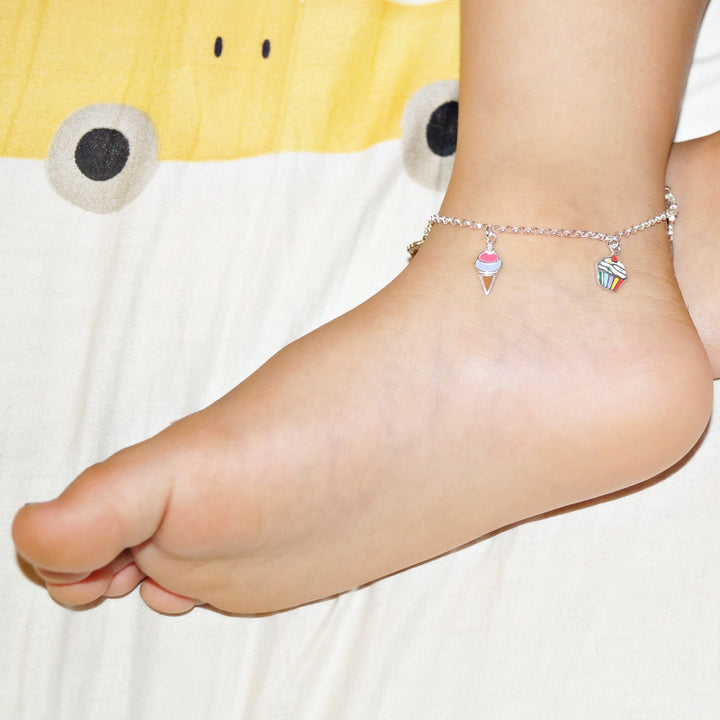 The Cupcake and Softy Kids Anklet (Single)