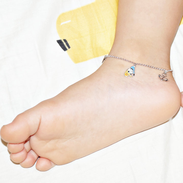The Sailer Donald Duck Kids Anklet (Single/Pair)