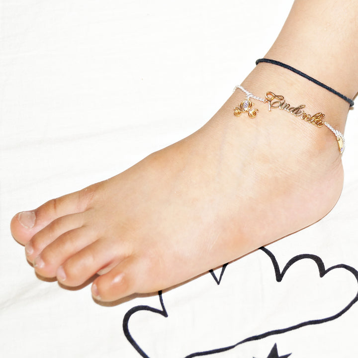 The Cinderella Kids Anklet (Single/Pair)
