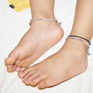 The Sea-shell Beads Double Layer Kids Anklet (Pair)