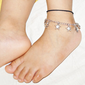 The Star Charms Kids Anklet (Single)