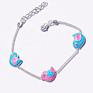 The Love Bird Kids Anklet (Pair)