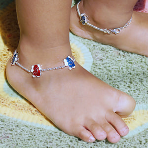 The Jumbo Elephant Kids Anklet (Pair)