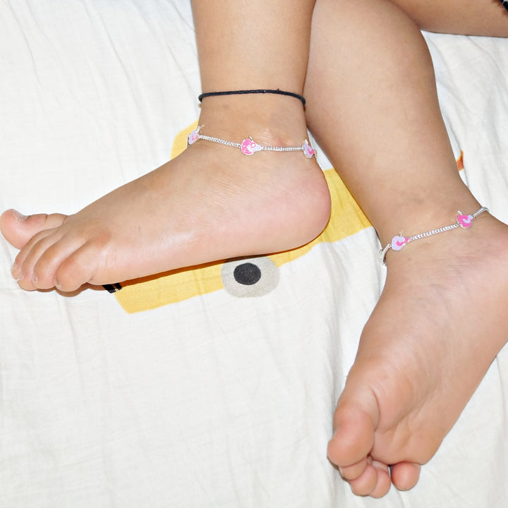 The Apple Kids Anklet (Pair)