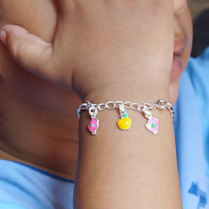 The Bird and Apple Baby Bracelet (Single/Pair)