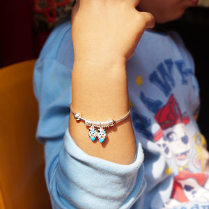 The Boy and Girl Kitten Baby Kaduli Bracelet (Single/Pair)