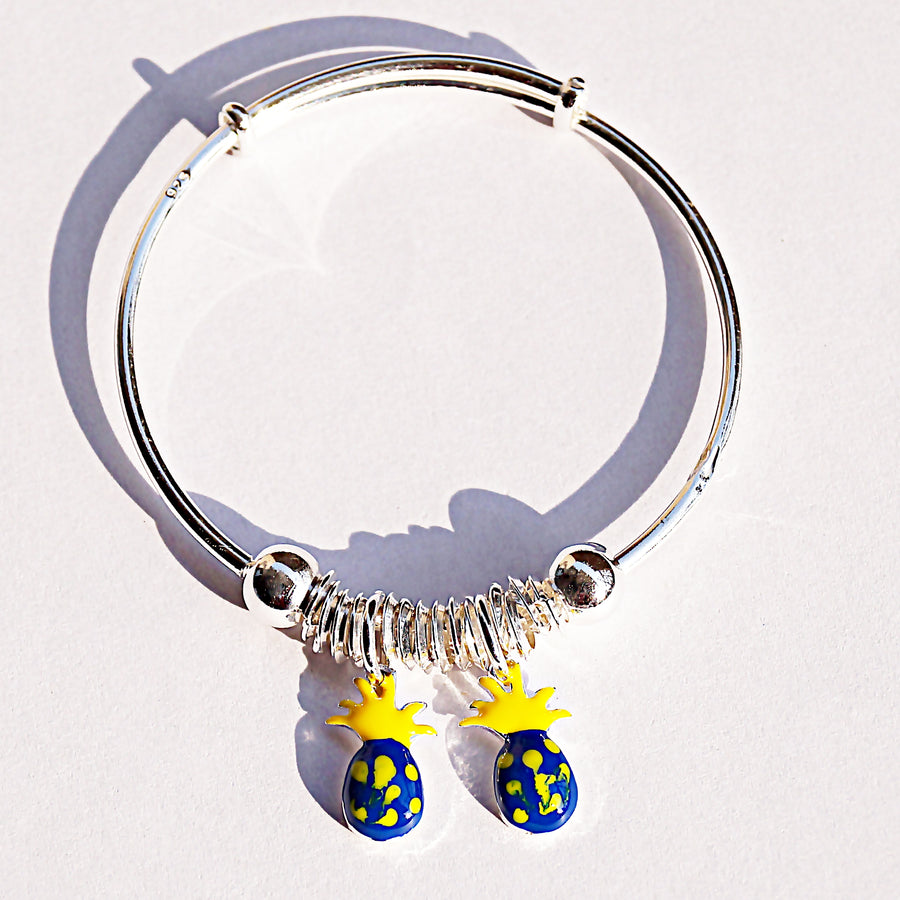 The Pineapple Charm Baby Kaduli Bracelet (Single/Pair)