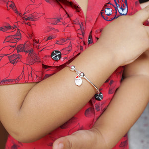 The Santa Claus Charm Baby Kaduli Bracelet (Single/Pair)