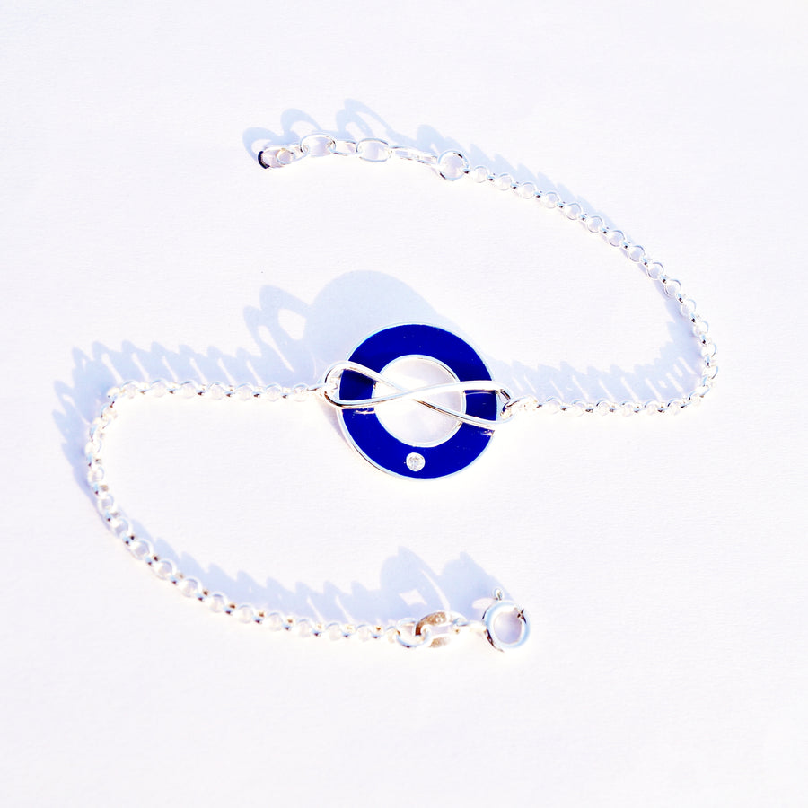 The Infinity Evil Eye Keeper Bracelet
