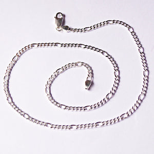 3mm Figaro Chain ( 20 Inches)