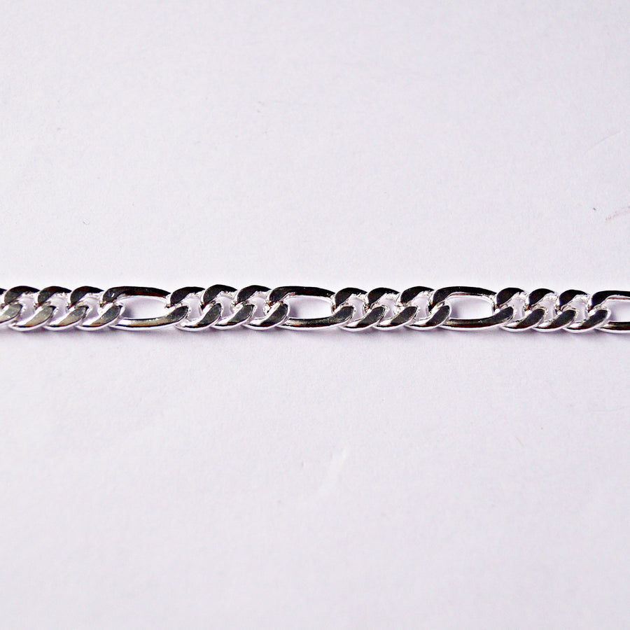 6mm Figaro Chain (21 Inches)